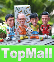 Wholesale JJ893 New Toy doll piggy bank Mr Aimard messi cristiano ronaldo robben the Netherlands Wedding Gift Baby gift Money Bank