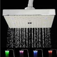 Wholesale fancy inch rain led shower head