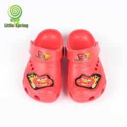 Wholesale 2 years Summer Kids Garden shoes children cartoon Plastic summer shoes boys sandals B LZ X0036