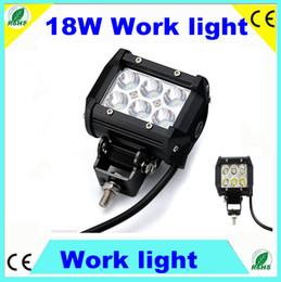 Wholesale 6pcs Fedex free quot W Cree LED Work Light Bar Lamp Tractor Boat Off Road WD x4 v v Truck SUV ATV Spot Beam Garden backyard lighting