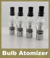 Ampoule atomiseur eGo Clearomizer Globe en verre Pyrex en verre pour eGo t Batterie E Cigarettes E Cig Effacer Cartomizer Dry Herb Wax Vaporisateur ATB003