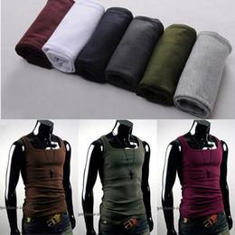 Wholesale New Men Slim Fit Sexy Stylish Tank Tops T Shirt