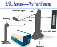 Wholesale Portable document scanner camera scanner photo scanner S200L A4 shooting area