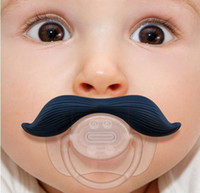 Wholesale 2014 Popular in United States beard pacifier funny pacifiers silicone baby mustache pacifier baby s dummy soothers cute teat
