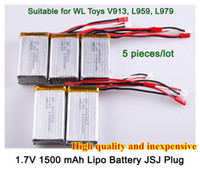 Wholesale piece V mAh S C Lipo Battery For WLtoys V913helicopter L959 L979 WD RC Hobby Buggy car Spare Parts Accessory407