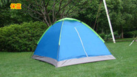 Wholesale Factory hot selling outdoor camping tent Double man Single layer Couple Lovers present in stock DHL free