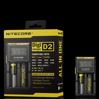 NITECORE D2 New I2 LCD Digicharger Universal Intelligent Cha...