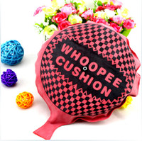 Wholesale Children student Funny Self Inflating Flarp Whoopee Cushion Fart Sound Gag Prank Joke Party Gift kids april fool s day joke funny toys