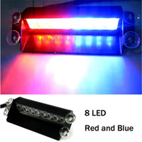 Wholesale New Arrival LED Car Light LED Strobe Light W Car Strobe Light V Car Flash Light Emergency Warning Light High Power LED Emergency Lights