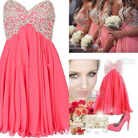 Reference Images short strapless dress - Trendy Short Bridesmaid Dresses A Line Strapless Sweetheart Embroidered Beads Junior Bridesmaid Dresses