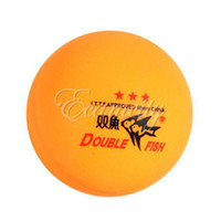double fish table tennis - 20 Boxes Double Fish Stars MM Olympic Table Tennis Orange Ping Pong Balls