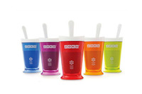 Wholesale new Zoku Shop sand ice cup smoothie cup ice cream machine self restraint slush maker shake maker