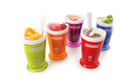 Wholesale Zoku Shop sand ice cup smoothie cup ice cream machine self restraint slush maker shake maker BYDH