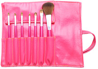 Wholesale Quickly delivery Cosmetic Brush Set pouch Cosmetic Bags soft PU honestgirl09