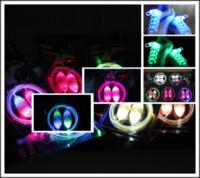 Public Shoelaces  200Pcs lot (2pcs = 1pair) Fiber Optic LED Shoe laces shoelaces neon led flashing shoelace strong light T348