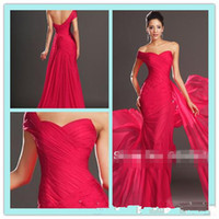 Cheap Reference Images Prom Dresses Best Strapless Chiffon Pageant Dresses