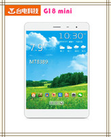 Under $300 Teclast 7.9 inch Tablet PC Teclast G18 mini 3G MTK8389 Quad Core 1.2GHz 7.9 Inch IPS 1024*768 Screen 1GB+16GB Single SIM 2.0+5.0MP Camera Tablet DHL free
