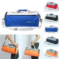 Wholesale New Fashion Cylinder Gym Sport Duffle Travel Bag Handbag Mens Womens Messenger Fitness Sports Bag