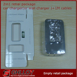 New Style 2 In 1 Retail Package For Iphone 3G 4G 5G 5C 5S Empty Box