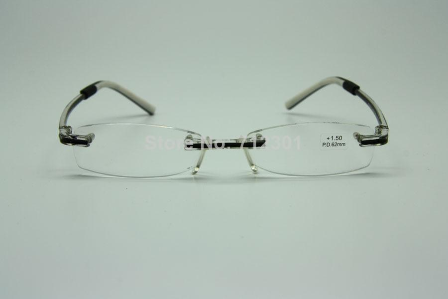 swissflex style design optics reading glasses rimless