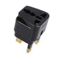 Wholesale Universal US EU AU to UK AC Power Plug Adapter Travel Connector Converter H9751