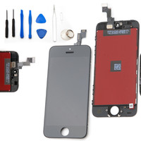 For Apple iPhone 5 LCD Screen Panels  US Stock! Front Assembly LCD Display Touch Screen Digitizer Replacement Part for iphone 5S