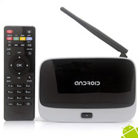 Wholesale Original T R42 CS918 Bluetooth Smart Android TV BOX RK3188 Quad Core IPTV Google Internet Live TV Channels Installed XBMC by DHL