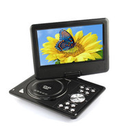 Wholesale 9 INCH PORTABLE DVD PLAYER WITH HIGH RESOLUTION COLOR TFT LCD SCREEN DISPLAY