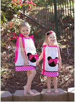 TuTu Summer Ball Gown Retail New 2014 Kids girls clothes cute Mickey Mouse Minnie Dress, 6 colors Children's dresses, baby girls clothing dress