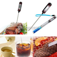 Wholesale Cheapest price Digital Probe BBQ Cooking Thermometer Food Kitchen Dropshipping b015