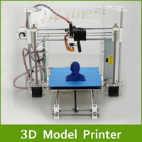 Cheap Free Shipping 2014 Aurora New Reprap Prusa I3 3D Printer 3 D Model Print DIY KIT High Accuracy Acrylic Frame 2 kg Filaments as Gift Z605