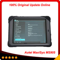 Wholesale 2014 Top selling Original Autel MaxiSys Mini MS905 Diagnostic Analysis System with quot Screen LED Touch Display In stock
