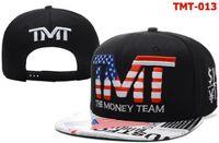 Wholesale The Money Team TMT Courtside Rich BBC Red Pink Blue Black TBE Colors Street Wear Snapbacks Cap Adjustable Caps Hats Mix Order