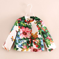 2014 Autumn Children Clothes Girls Emboss Floral Flower Shor...