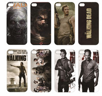 For Apple iPhone TPU White Protective shell Case for iphone 5 walking dead