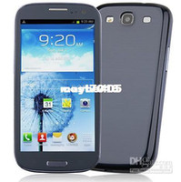 Wholesale Goophone S3 i5 Smart Phone Inch AMOLED Screen Android MTK6577 Dual Core G Single Sim