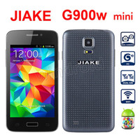 Wholesale 10pcs mini S5 JIAKE G900W mini inch Android Dual SIM camera G Quad band Unlocked Smart cell phone Mobile with case Free DHL cheapest