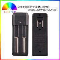 rechargeable battery li-ion - Dual Slots Universal Charger for Rechargeable Li ion Battery Battery DHL