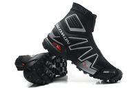 Wholesale 2014 New Salomon snowcross Men s shoes high quality running shoes