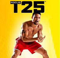 Cheap Wholesale - Shaun T Focus Fitness Tutorial T25 Workout Alpha Beta Core With Resistance Band hottest Factory Sealed 30pcs