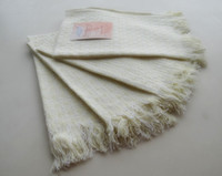 Wholesale cleaning glass Country Kitchen Linen Set Towel Dish Cloth Pot Holder Cotton Wash clothes
