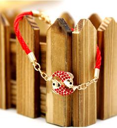 2014 New cheap Vintage Charm Sweet Bracelet&Bangles For Women Colorful Bracelet fish bracelet diamond gold plated accessories