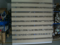 Wholesale retail polyester grey transparent customized zebra blinds window curtains for living room ZB35