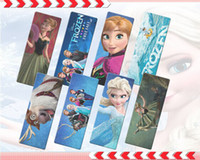 Wholesale Frozen Bookmarks Elsa Ana Olaf D toys kids learning educational gifts party supply decorations school