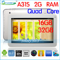 Wholesale 2G RAM G GB ROM HDMI Bluetooth OEM Tablets KitKat Android quot quot inch A31S Quad Core Tablet PC Allwinner A31S Need to Customize