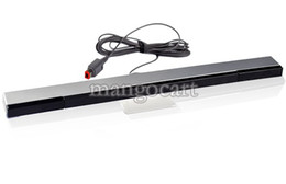 Wholesale 2014 For Nitendo Perfect New Wired Infrared IR Signal Ray Sensor Bar Receiver Remote Replace B16