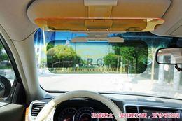 Wholesale 2x Car Anti Glare Dazzling Goggle Vision Day Night Driving Sun Visor Proof Mirror