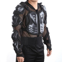 Wholesale S5Q Motorcross Racing Motorcycle Full Body Armor Spine Chest Protective Jacket AAADNA