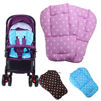 normals stroller baby - Baby Seat Cushion for Stroller Cotton Anti Slip Seat Stroller Mat Chair Pad Cushion Seat Car Pad Thicken cotton stroller Accessories