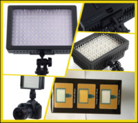 Wholesale 20Pcs HD LED Video Light Lamp W Dimmable for DSLR Camera Video DV Camcorder X12